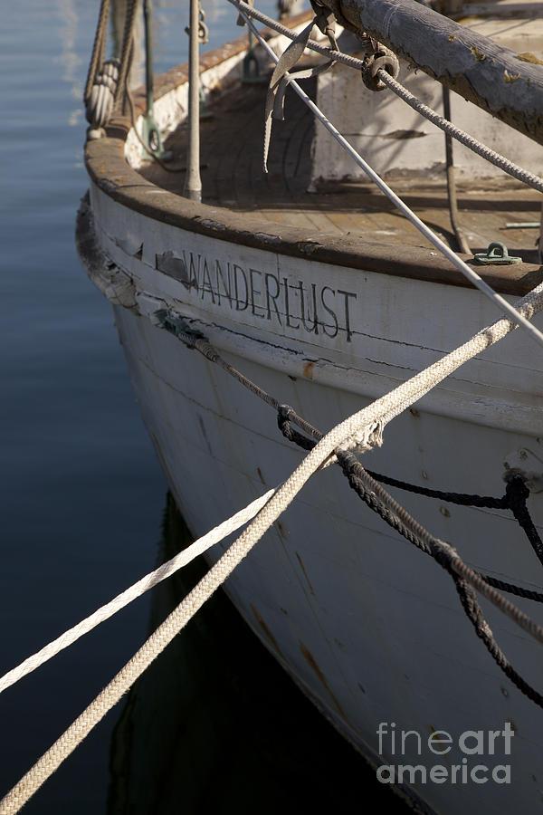 Boats Photograph - S.o. Wanderlust by Amanda Barcon