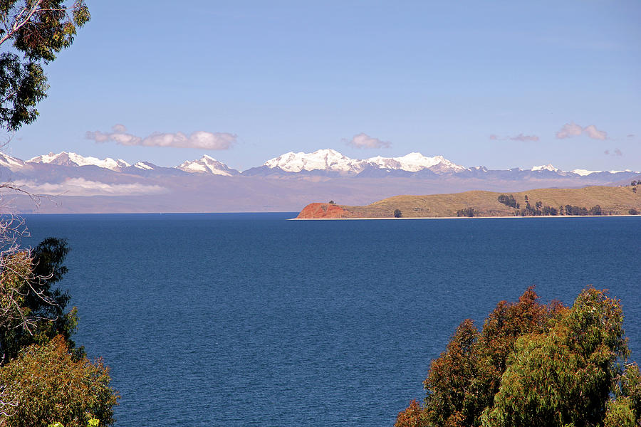 Andes Photograph - South America, Bolivia, Sun Island by Kymri Wilt