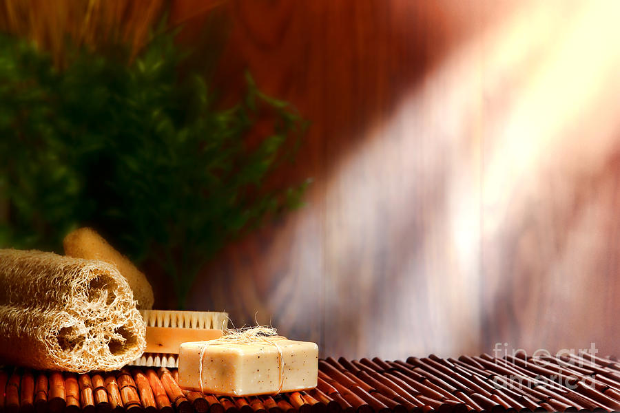 Aromatherapy Photograph - Spa Ambiance 2 by Olivier Le Queinec
