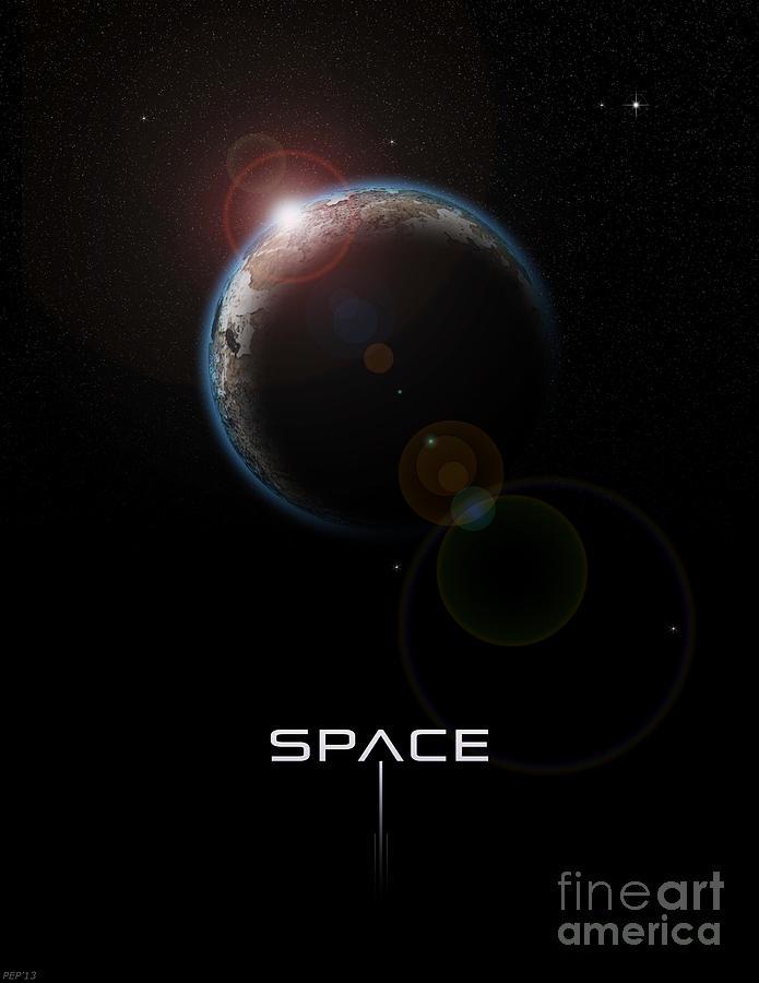 Space Digital Art - Space by Phil Perkins