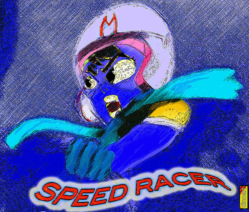 Marvel Pastel - Speed Racer  by Jazzboy
