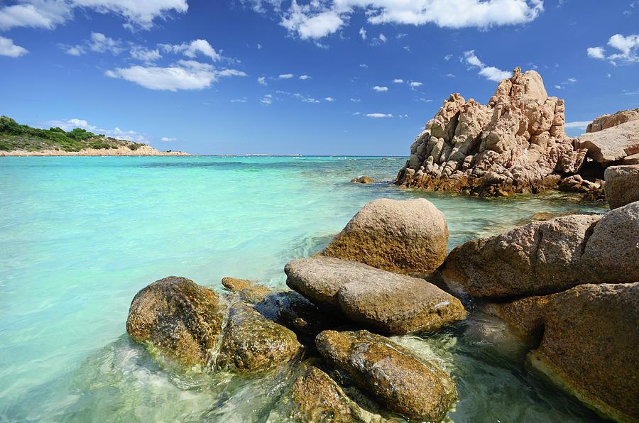 Spiaggia Del Principe Photograph by Dhmig Photography