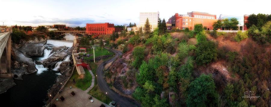 Spokane Wa Photograph - Spokane Falls by Dan Quam