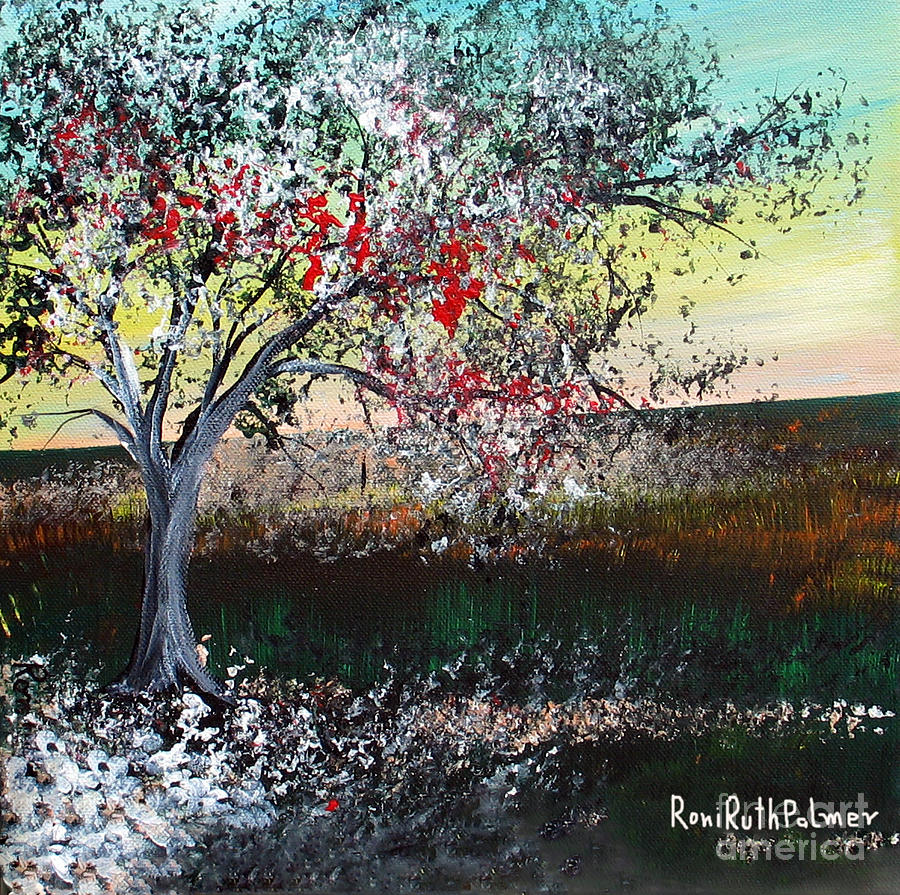 Spring Painting - Spring by Roni Ruth Palmer