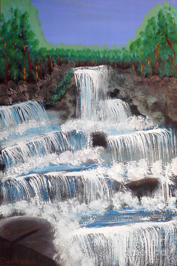Spring Waterfall by Carol Duarte
