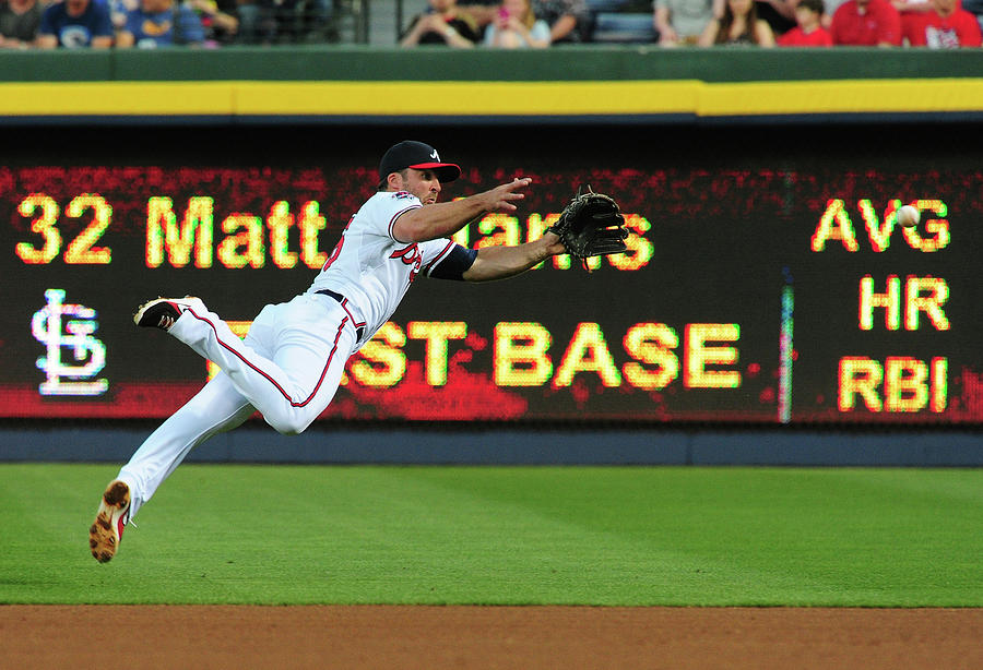 St. Louis Cardinals V Atlanta Braves 2 Photograph by Scott Cunningham