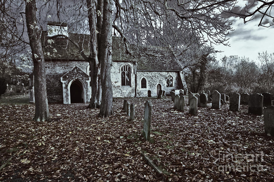 Saint Margaret Photograph - St Margaret Of Antiochs Church Linstead by Darren Burroughs
