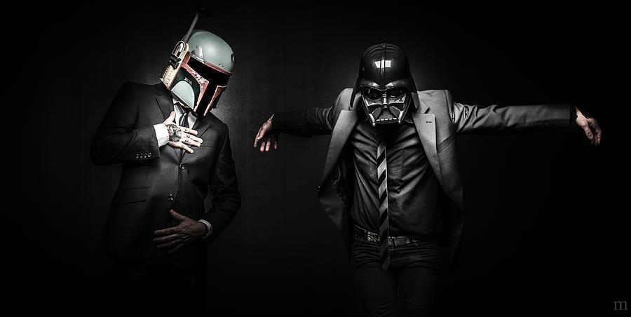 Starwars Photograph - Starwars Suitup by Marino Flovent
