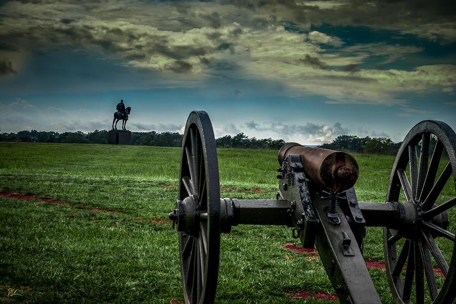 Battlefield Photograph - Stonewall At Henry Hill by Pat Scanlon