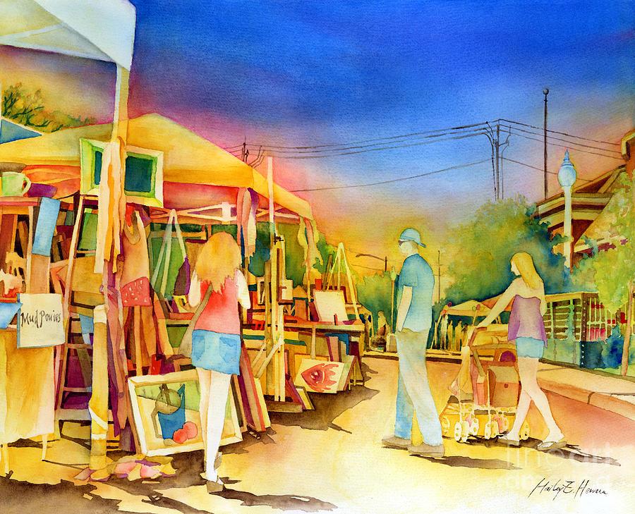 Street Art Fair Painting