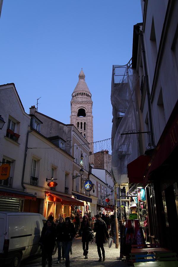 Paris Photograph - Street Scenes - Paris France - 01131 by DC Photographer