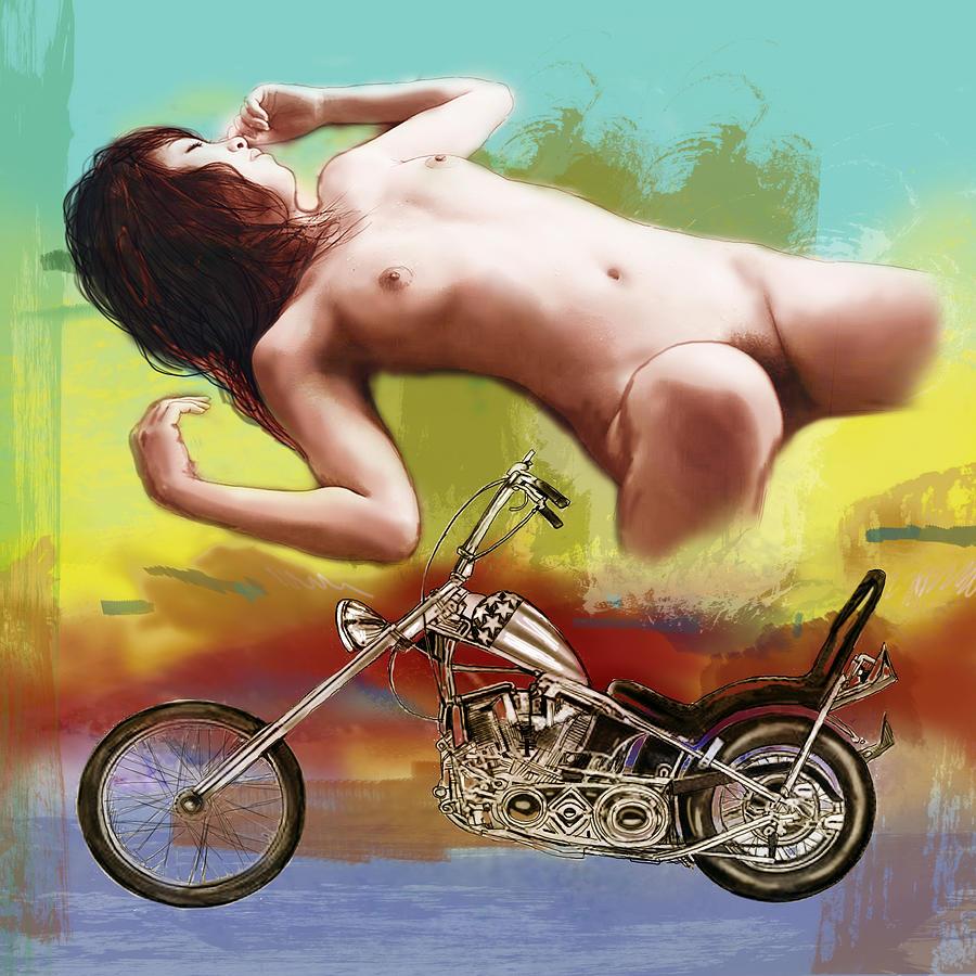 Nude latina in theater