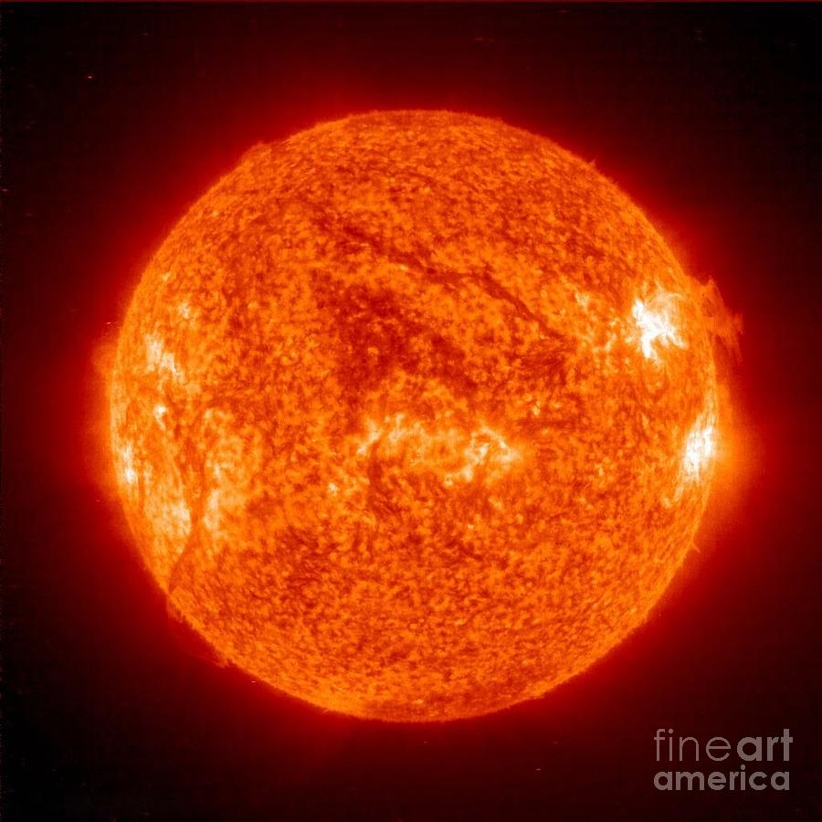 Science Photograph - Sun by Science Source