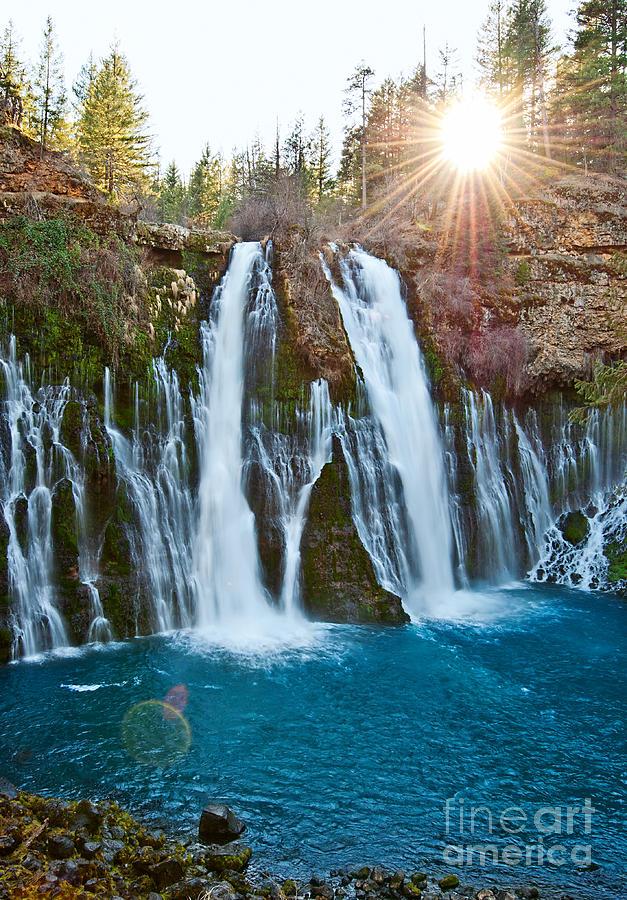 Sunburst Falls Burney Falls Is One Of The Most Beautiful