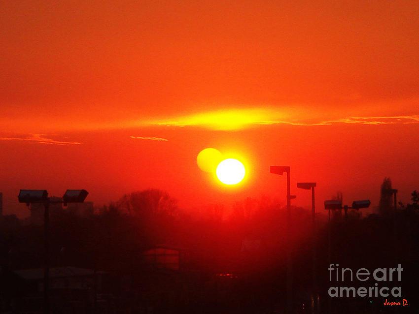 Sunset Photograph - Sunset by Jasna Dragun