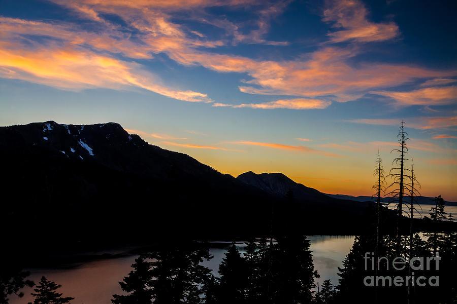 Sunset On Angora Ridge Photograph - Sunset On Angora Ridge by Mitch Shindelbower