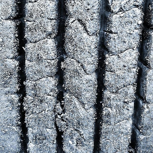 Urban Photograph - The Tyre by J Roustie