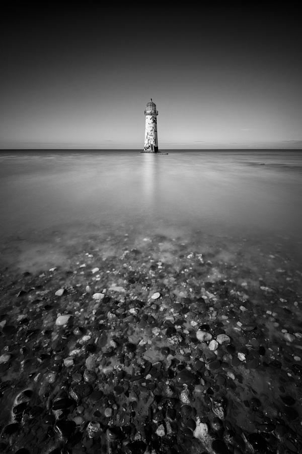 Talacre Photograph - Talacre Lighthouse by Dave Bowman