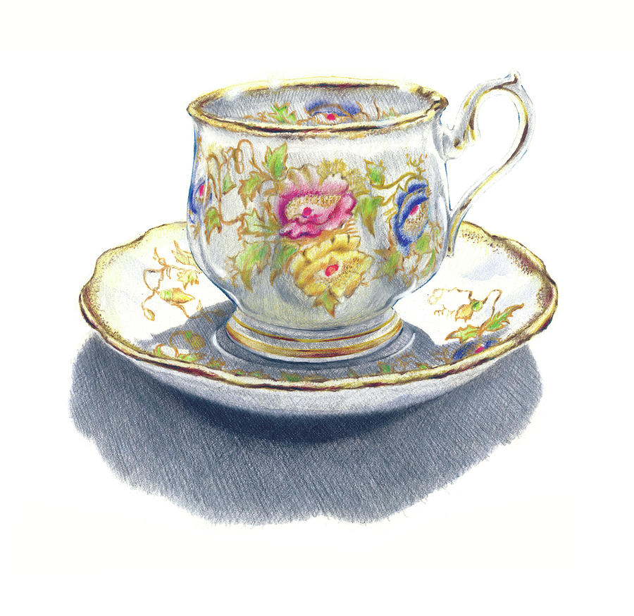 Teacup illustrations and clipart 7745  Can Stock Photo