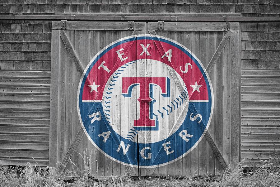 Rangers Photograph - Texas Rangers by Joe Hamilton