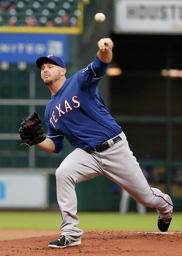 Texas Rangers V Houston Astros Photograph by Scott Halleran