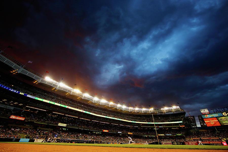 Texas Rangers V New York Yankees Photograph by Al Bello