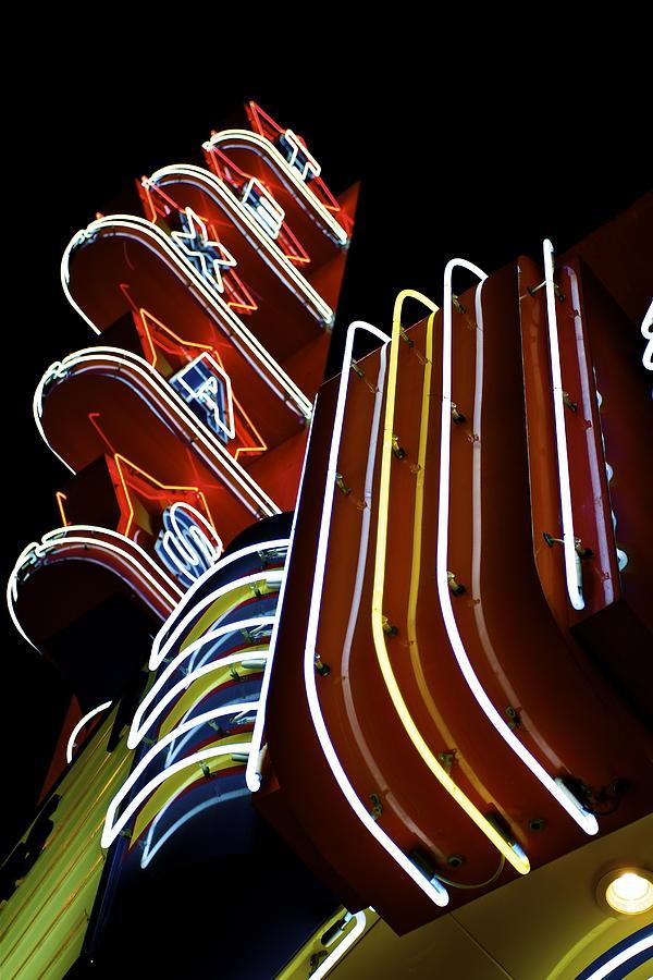 Texas Theatre Photograph - Texas Theatre Marquee by John Babis