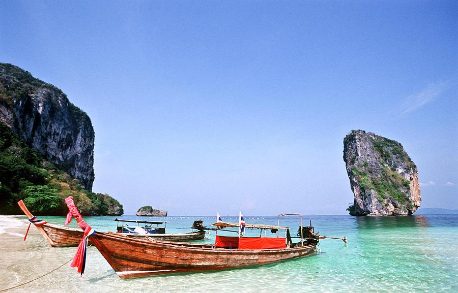 Thailand, Krabi Province, Ko Poda Photograph by Tropicalpixsingapore