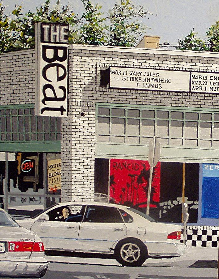 Sacramento Painting - The Beat In Midtown by Paul Guyer