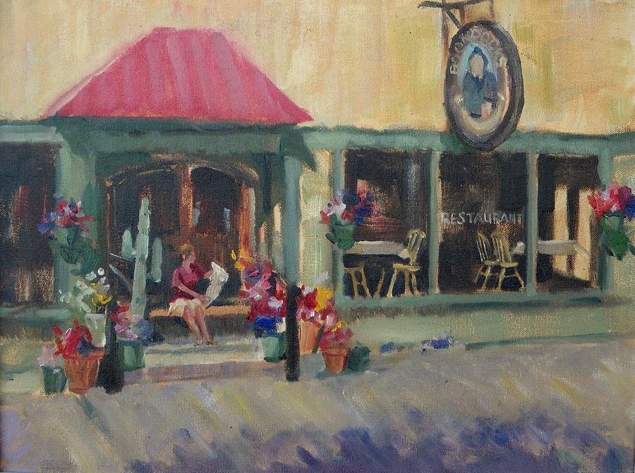 Boondocks Painting - The Boondocks  by Ron Wilson