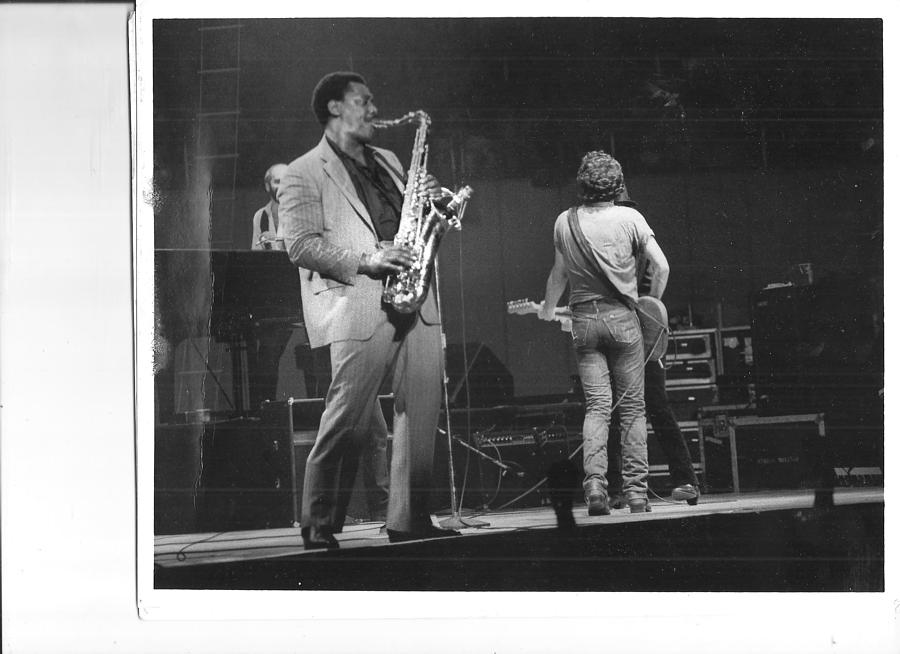 Bruce Springsteen Photograph - The Boss And Clarence by Bc Adamkowski