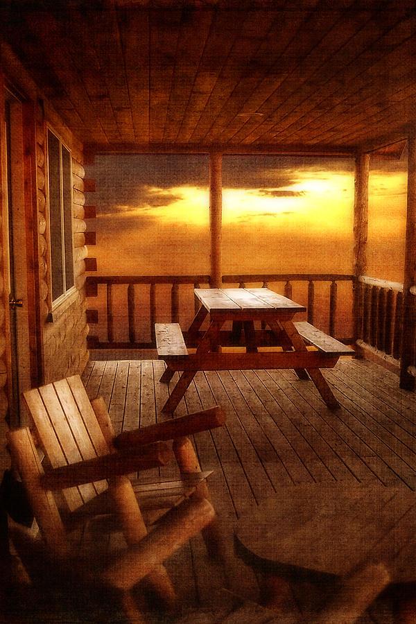 Cabin Photograph - The Cabin by Joann Vitali