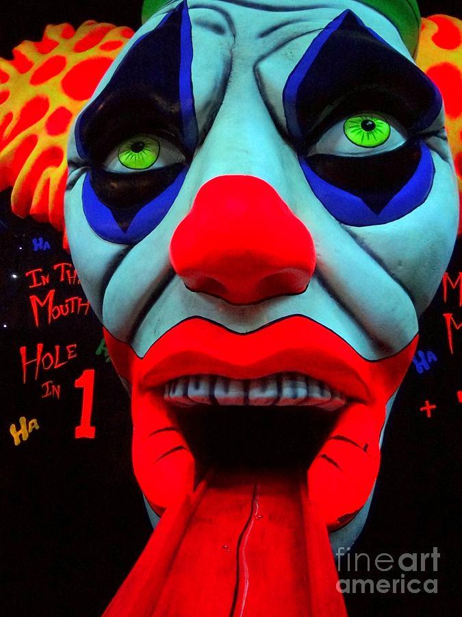 Clowns Photograph - The Clown by Ed Weidman