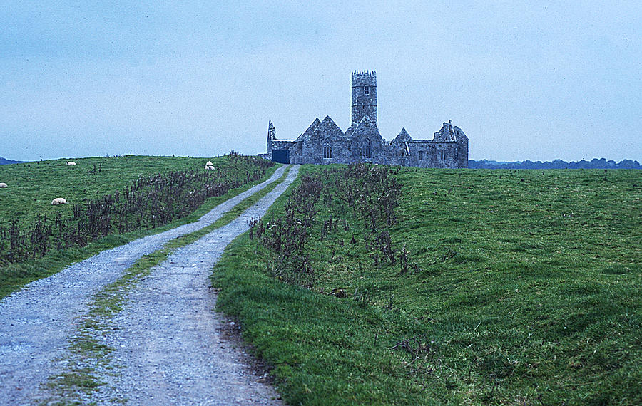 Abbey Photograph - The Deserted Abbey by Carl Purcell