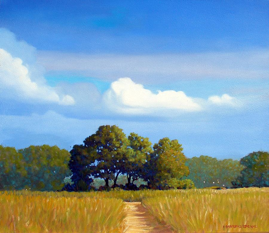 Landscape Painting - The Path by Kevin Lawrence Leveque