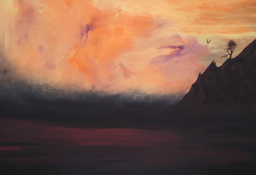 Landscape Painting - The Return by Twirling Thunderbird