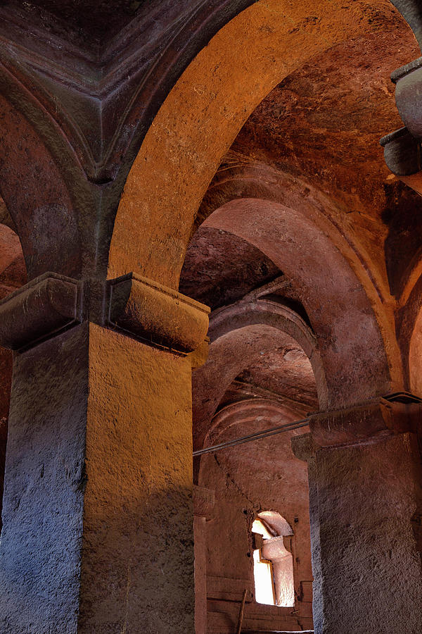 Abyssinia Photograph - The Rock-hewn Churches Of Lalibela by Martin Zwick