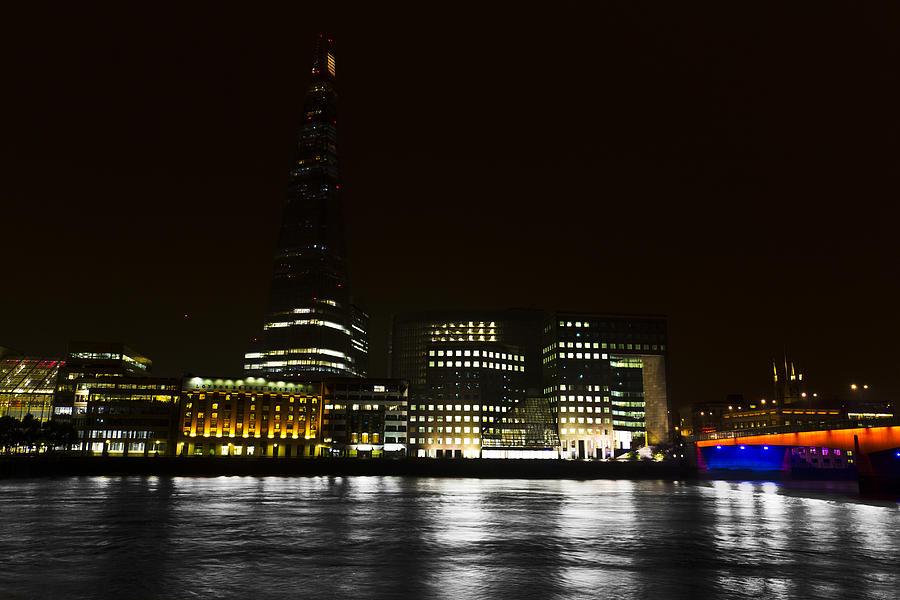 The Shard Photograph - The South Bank London by David Pyatt