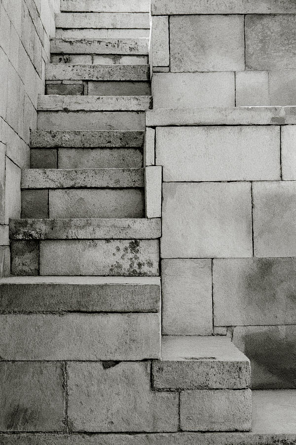 Minimalism Photograph - The Stairway by Shaun Higson