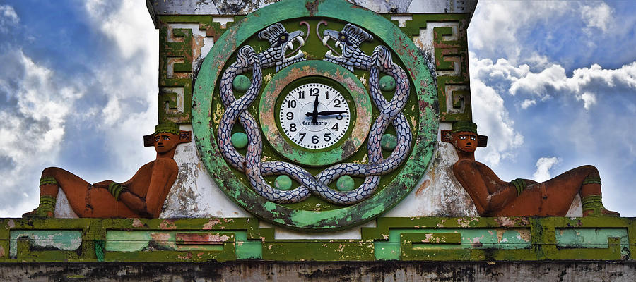 Time Photograph - Time by Skip Hunt