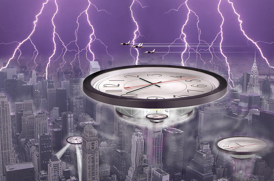 Surrealism Photograph - Time Travelers by Mike McGlothlen