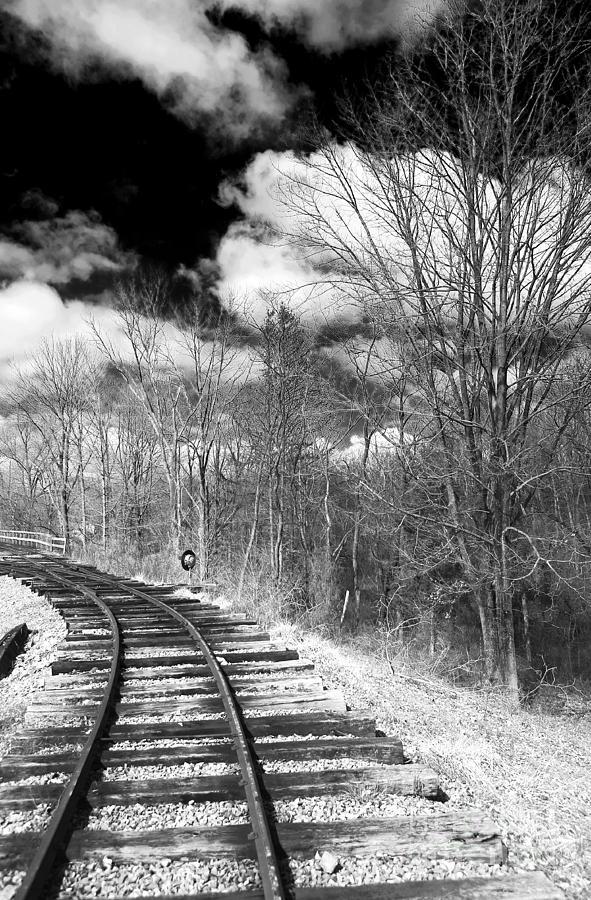 Tracks Photograph - Tracks by John Rizzuto
