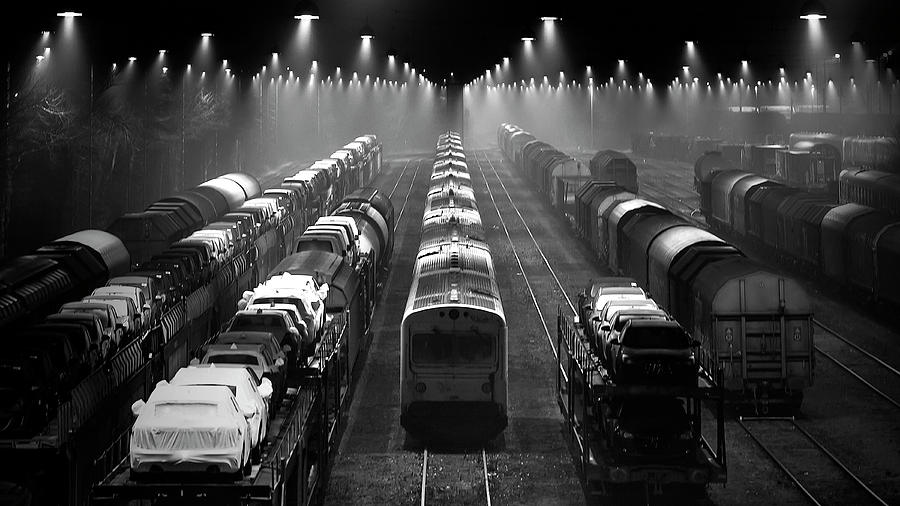 Train Photograph - Trainsets by Leif L?ndal