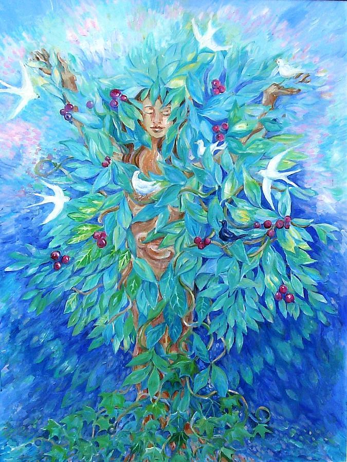 Tree Painting - Tree Of Life  by Trudi Doyle