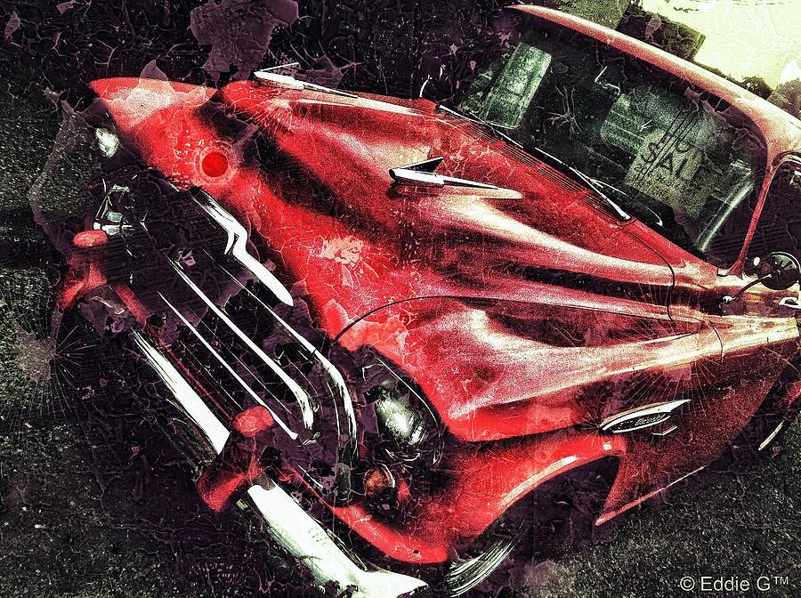Trucker Red Photograph