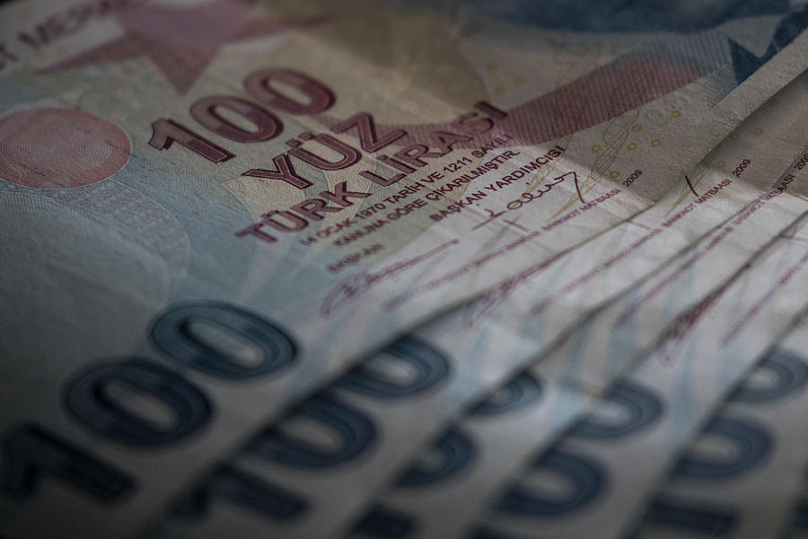 Turkish Lira Falls to Record Low Photograph by Chris McGrath