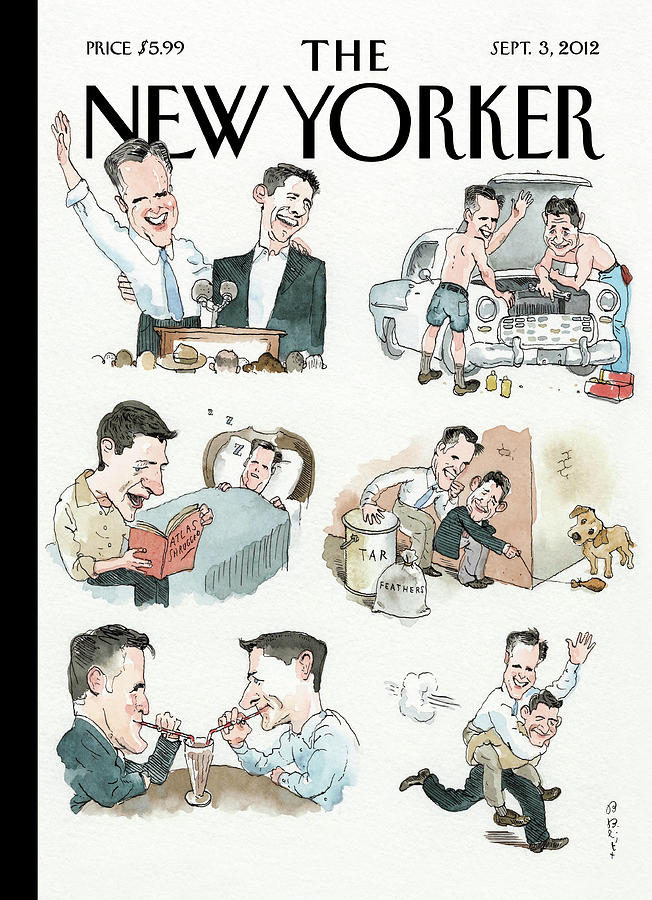 New Yorker September 3rd, 2012 Painting by Barry Blitt