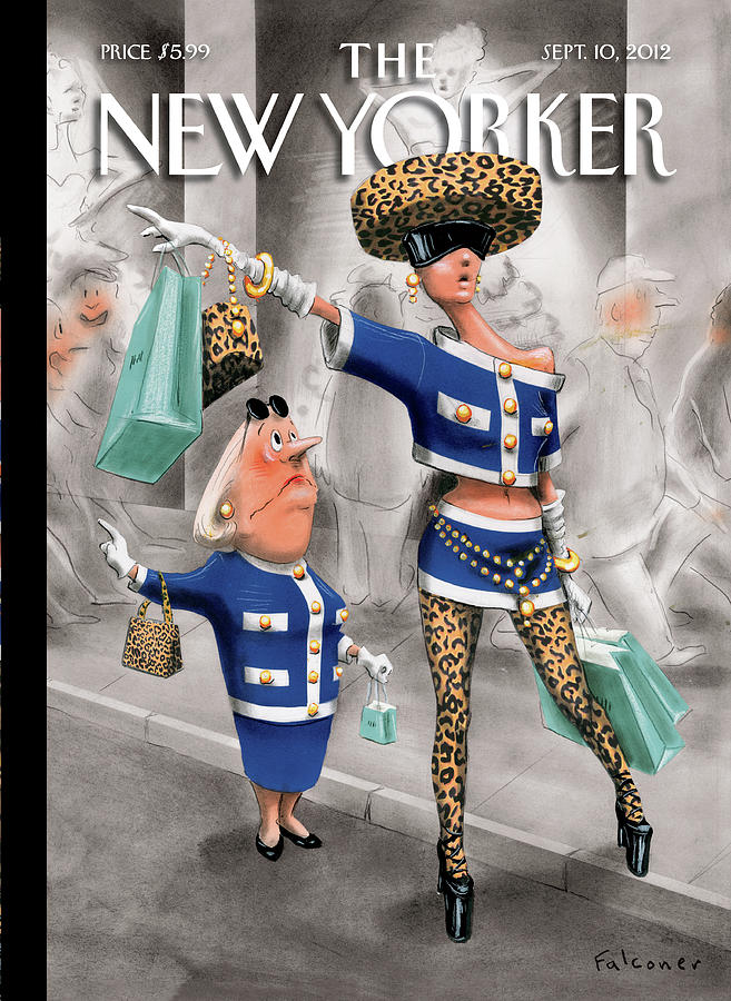 New Yorker September 10th, 2012 Painting by Ian Falconer