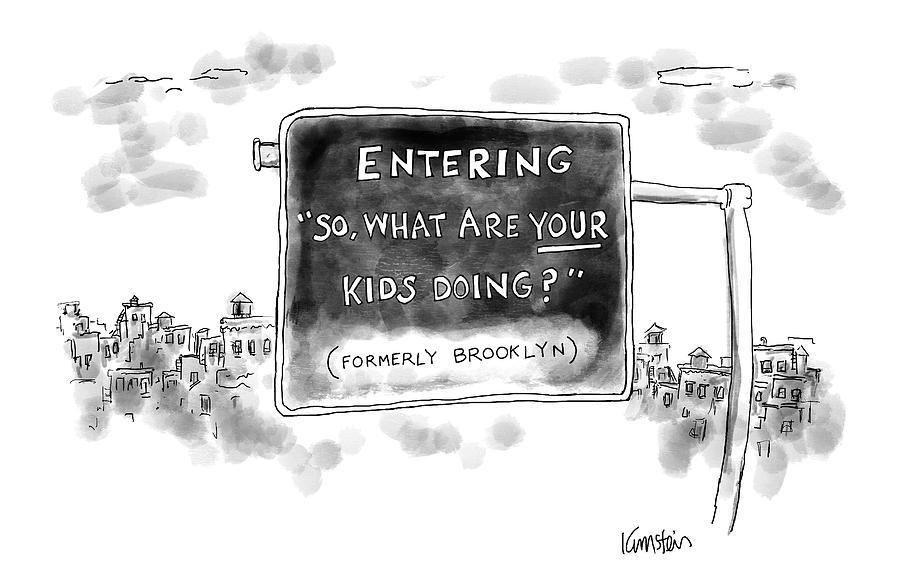 New Yorker September 26th, 2016 Drawing by Ken Krimstein