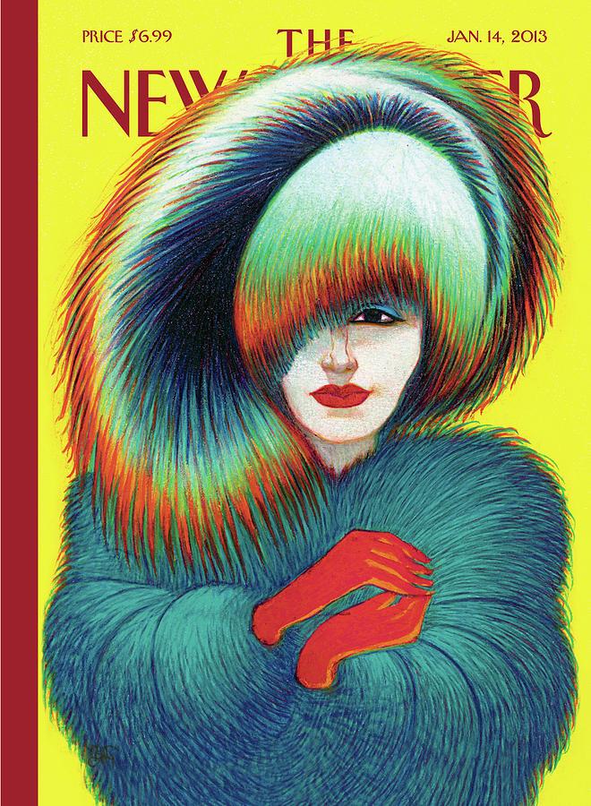 New Yorker January 14th, 2013 Painting by Lorenzo Mattotti